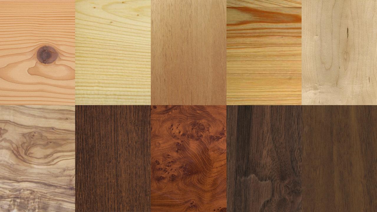 Tipos de madera maderas blandas carpintero palma for Diferentes tipos de muebles